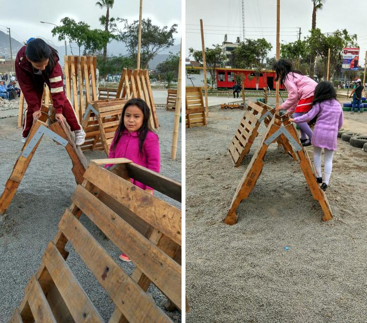 Se inaugura intervención urbana en Parque Manhattan de Comas, en Lima, Cortesía de Lima Cómo Vamos