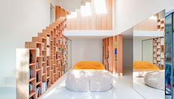 Bookshelf House / Andrea Mosca Creative Studio