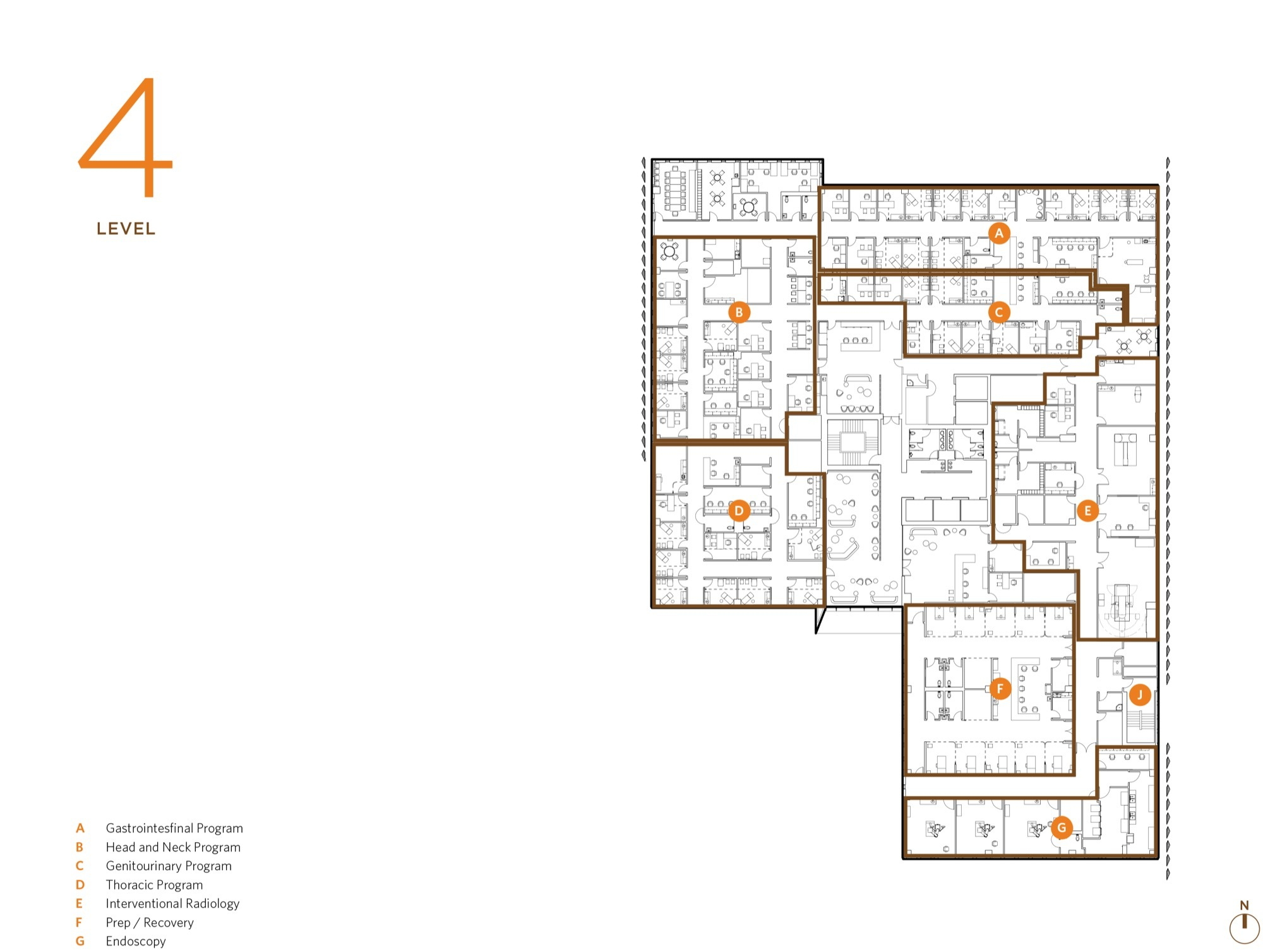 Cancer Center Floor Plan Gallery Of University Of Arizona Cancer Center Zgf