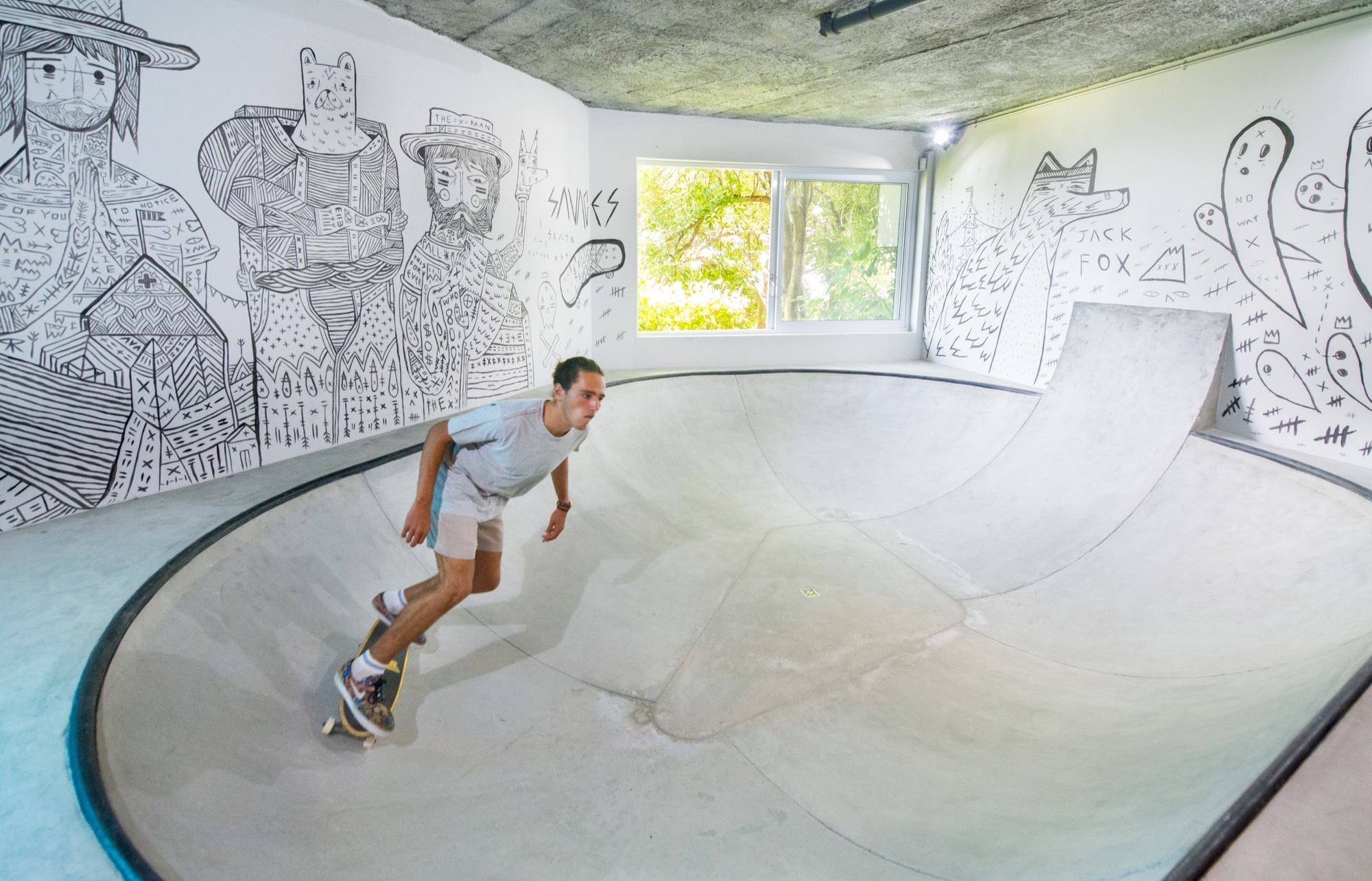 Urban Man Cave Fire : Gallery of urban man cave inhouse brand architects