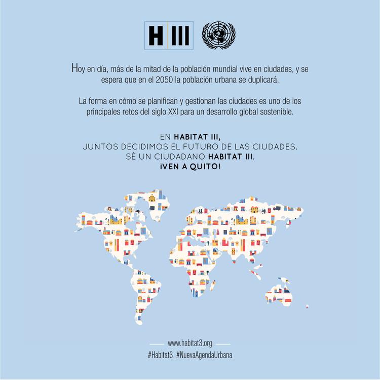 Habitat III. Image © ONU-Habitat / Difusión