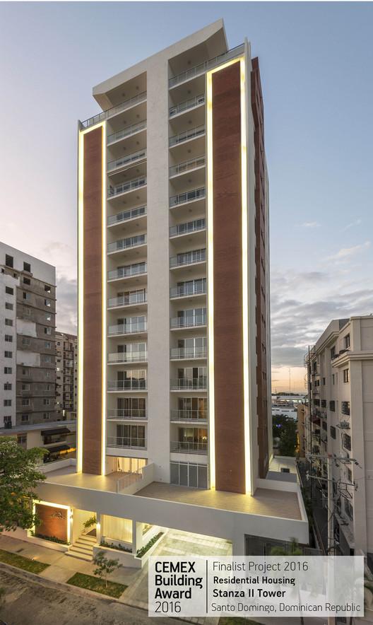 Stanza II Tower / Higinio Llames,Grupo HCR. Santo Domingo, República Dominicana. Image © Ricardo Briones