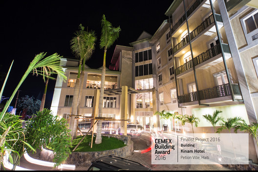 Kinam Hotel / BO TAO. Petion Ville, Haiti. Image © Frederic Alexis, Verdy Verna