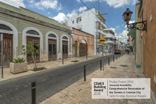 Comprehensive Renovation of the Streets in Colonial City / Arquitectura, Urbanismo y Cooperación S.L.. Santo Domingo, República Dominicana. Image  Cortesía de CEMEX Building Award