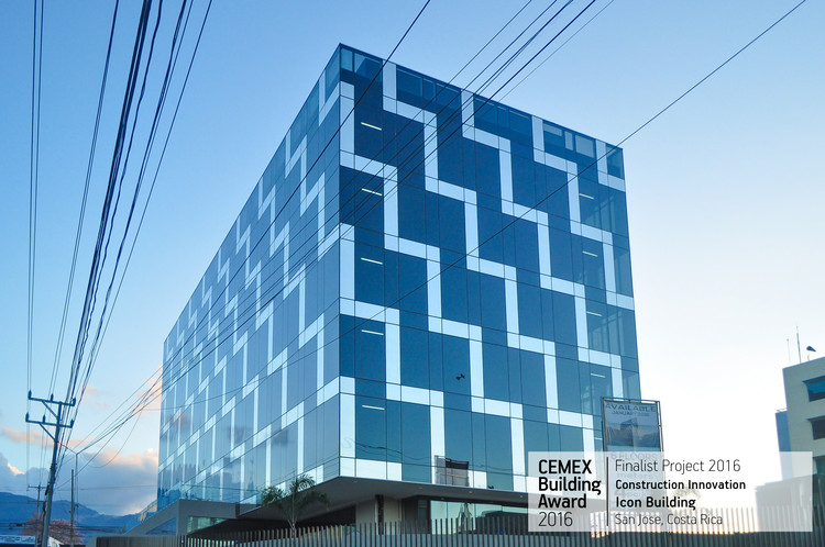 Icon Building / Javier Rojas. San José, Costa Rica. Image © Willy Calderón