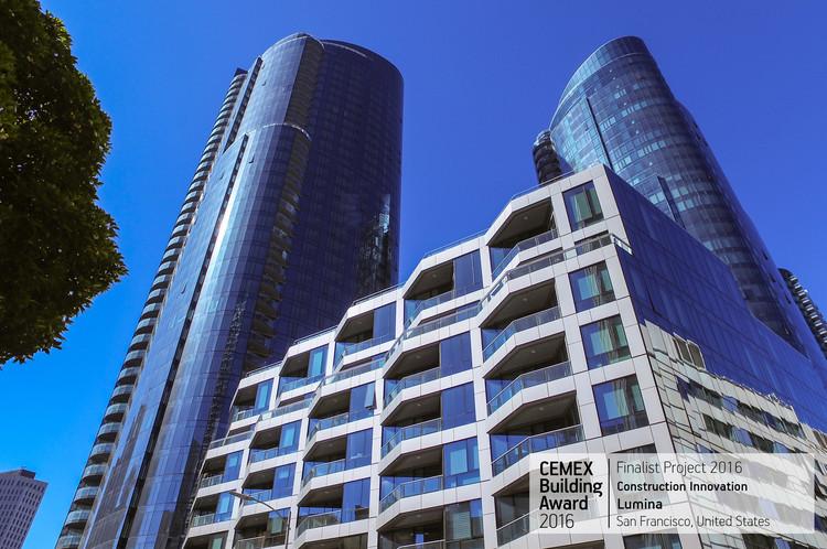 Lumina / Arquitectonica & Heller Manus. San Francisco, USA . Image © CEMEX Lumina / Arquitectonica & Heller Manus. San Francisco, USA. Image © CEMEX