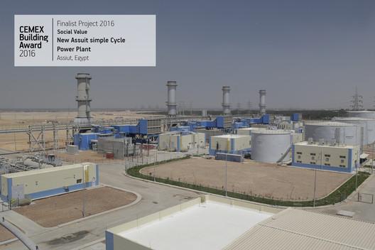 New Assiut simple Cycle Power Plant Assiut, Egypt. Image  Cortesía de CEMEX Building Award