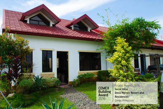 Deca Homes Resort and Residences / 8990 Housing Development Corporation Davao, Filipinas. Image  Cortesía de CEMEX Building Award