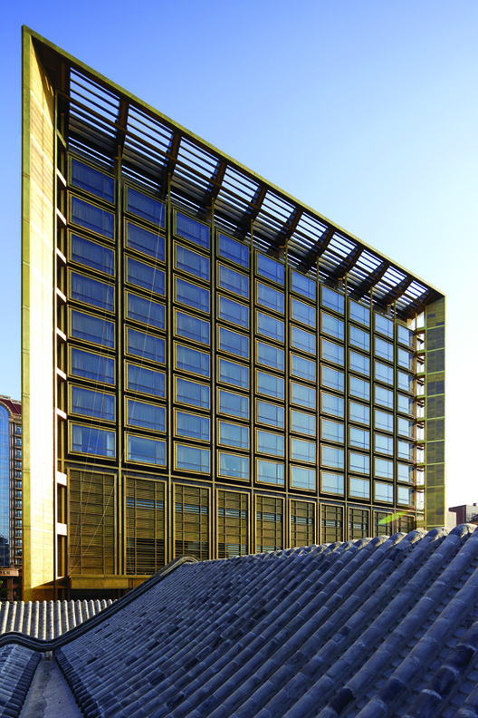 Waldorf Astoria Beijing, Adrian Smith + Gordon Gill. © ShuHe Photography