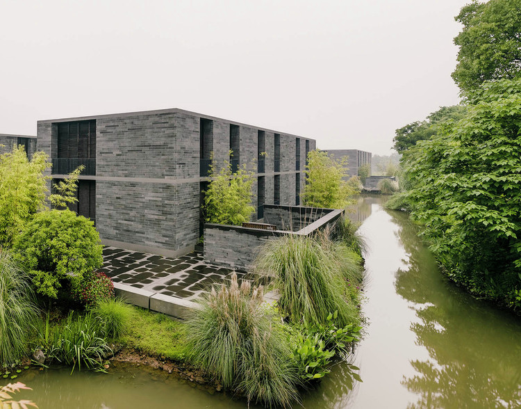 Xixi Wetland Estate, David Chipperfield Architects. © Simon Menges