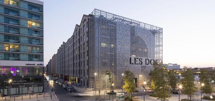 Marseilles Docks, 5+1AA architecturescon JPMorgan y Constructa Urban Systems. © Luc Boegly