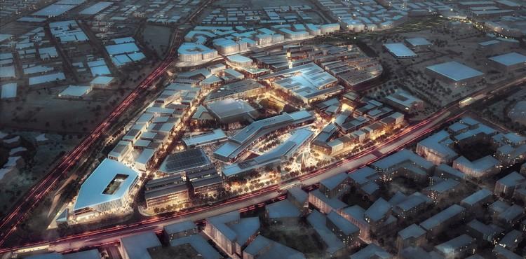 Qatar Research And Development Complex, Perkins + Will. Cortesía de Perkins + Will