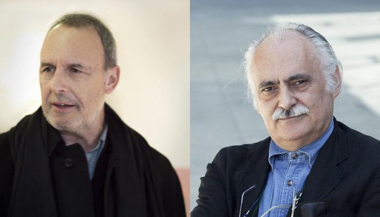 Víctor López Cotelo y Guillermo Vázquez Consuegra, Medalla de Oro de Arquitectura 2016, Guillermo Vázquez Consuegra y Víctor López Cotelo. Image © CSCAE / Difusión