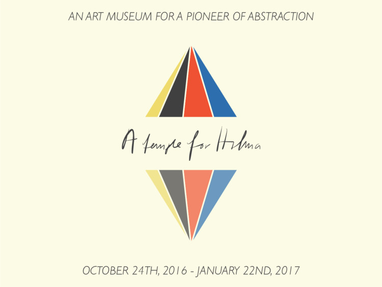 "Call for Submissions: ""A Temple for Hilma"", An art museum for a pioneer of abstraction"