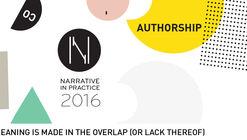 Narrative in Practice: 2016