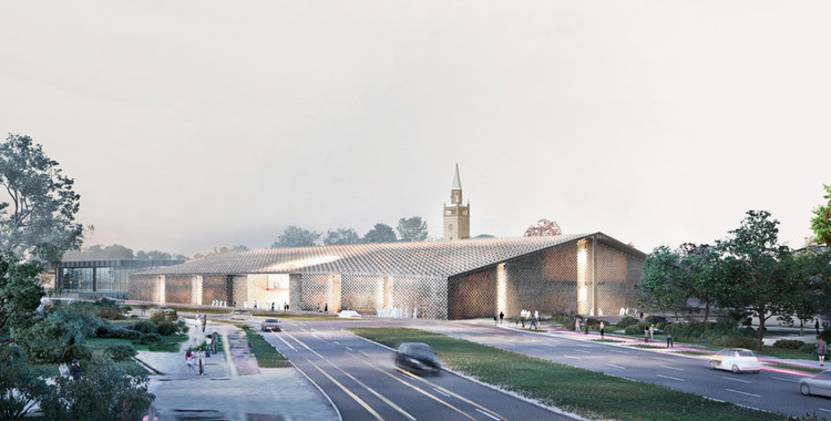 Herzog & de Meuron gana concurso para diseñar el Museo del Siglo XX en Berlín, © Herzog & de Meuron + Landscape architects Vogt AG