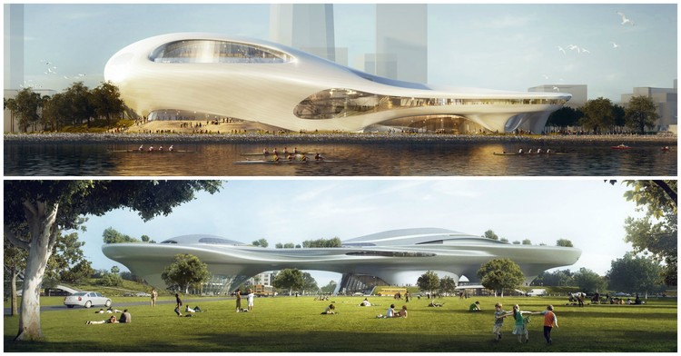MAD Unveils Dual Lucas Museum Proposals for Los Angeles and San Francisco, Courtesy of Lucas Museum of Narrative Art