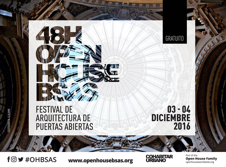 Festival 48h Open House / Buenos Aires, Foto: Gustavo Alama Imagen: Open House
