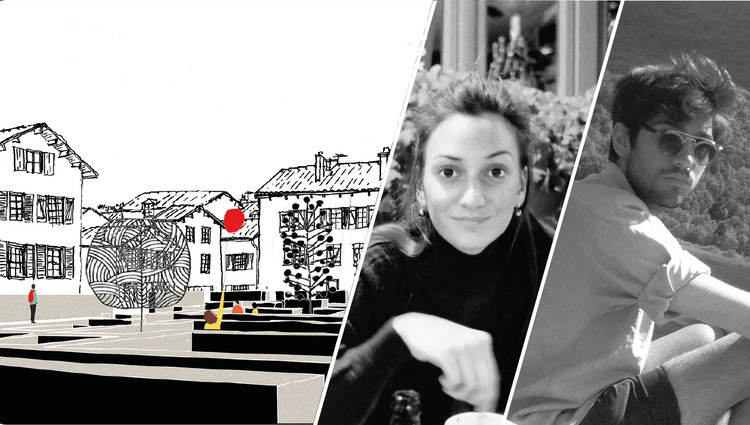 Death and Life of a Small French city, Alix Sportich du Réau de la Gaignonnière / Alice Villatte from School of architecture of Marne-la-Vallée, France. Image Courtesy of Fundació Mies van der Rohe