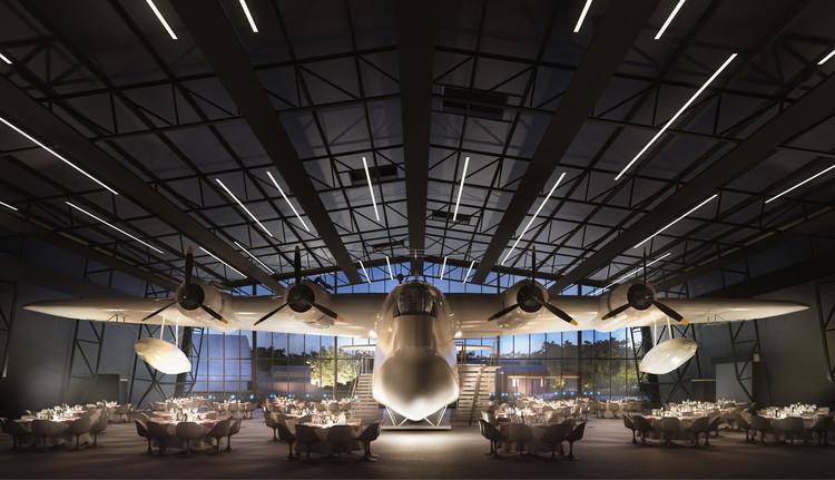 Nex Architecture revela diseño del nuevo Museo de la Real Fuerza Aérea Británica en Londres, © Hayes Davidson