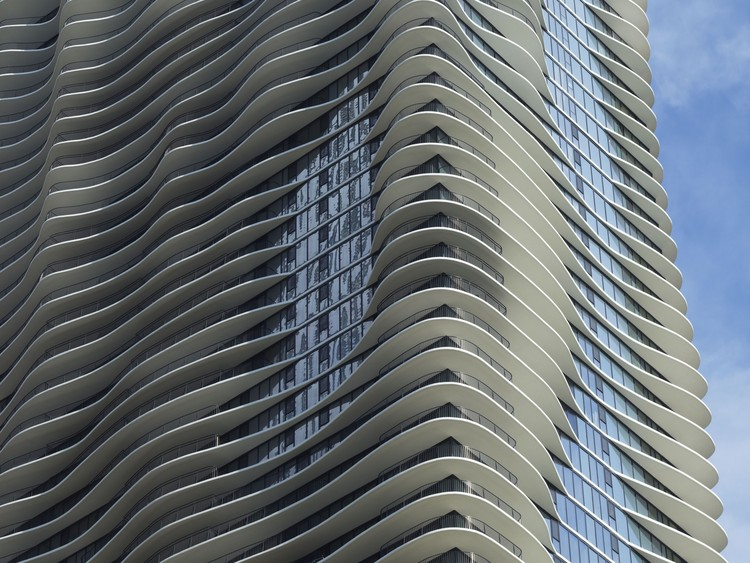 Aqua Tower, Chicago, 2009. Image © Hedrich Blessing. Photographer Steve Hall