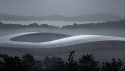 Zaha Hadid Architects diseñará estadio construido en madera para equipo de fútbol inglés