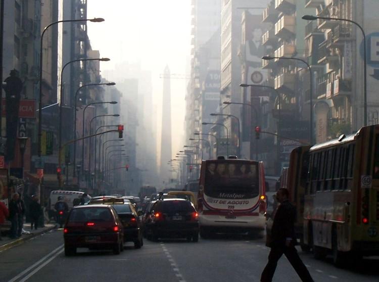 Planes para triplicar la restricción vehicular en el microcentro porteño: áreas restringidas alcanzarían las 315 cuadras , vía © Wikipedia User: Loco085 Licensed under CC BY-SA 2.5