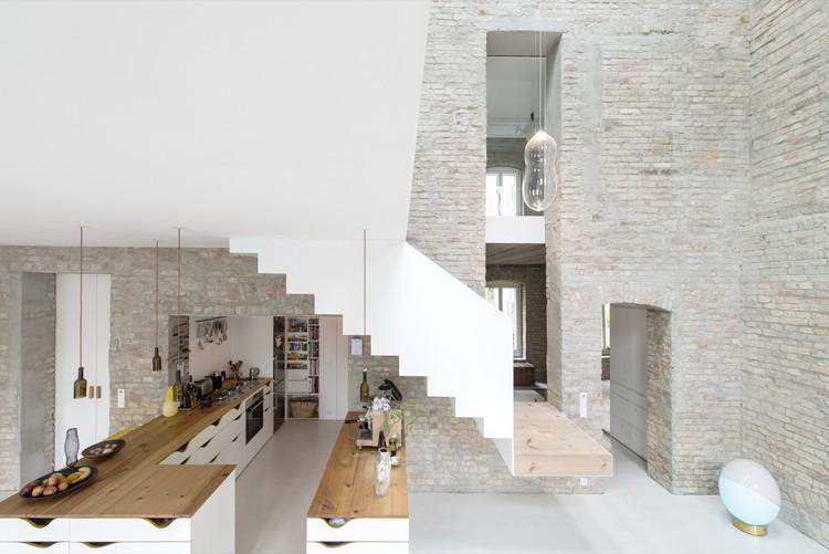 MMB – Umbau Müllerhaus Berlin / asdfg Architekten, © Michael Pfisterer