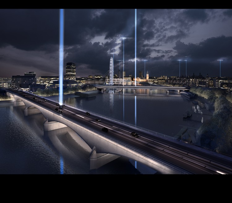 6 shortlisted designs unveiled in london s illuminated for Design bridge london