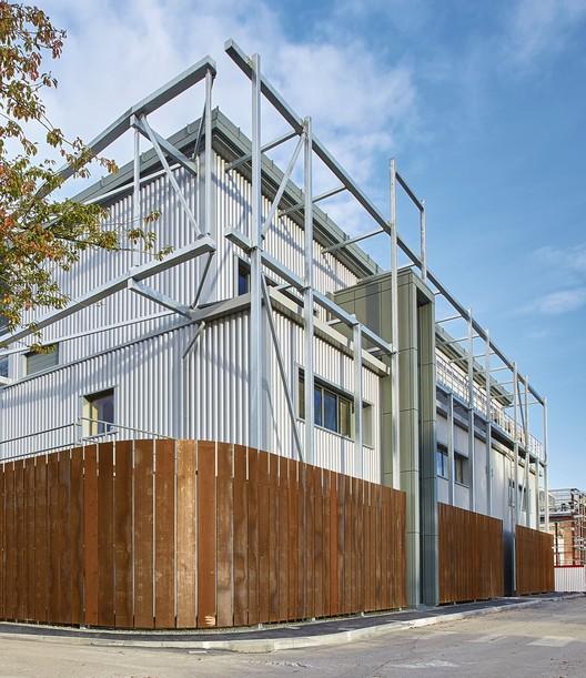 Berkeley Green Skills Centre / Hewitt Studios, © Paul Younger