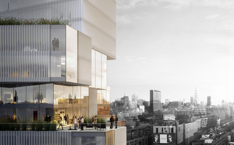 Studio Seilern Architects Unveils Plans for Skyscraper in Manhattan's Art Quarter , Courtesy of Studio Seilern Architects (SSA)