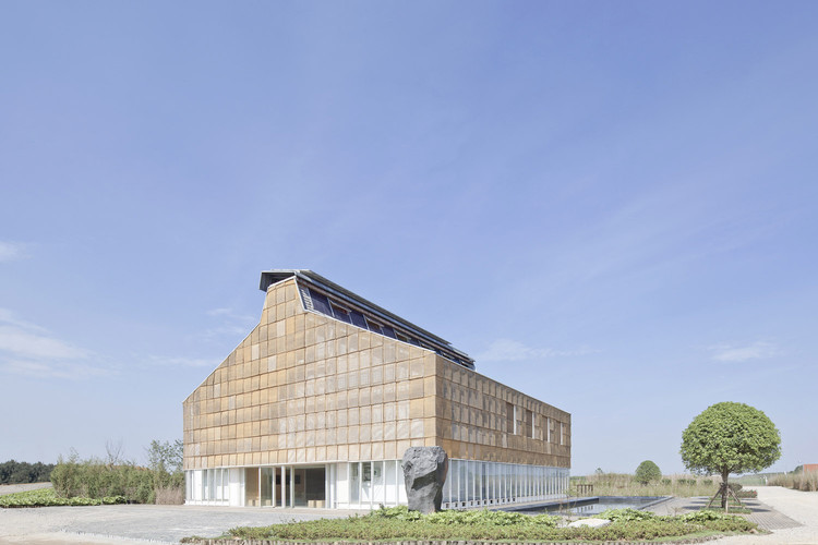 Nearly Zero Energy Building of the Gui'an Innovation Park / SUP Atelier, © Xia Zhi