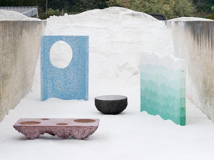 Studio Ossidiana funde y texturiza el concreto para representar jardines persas, © Kyoungtae Kim