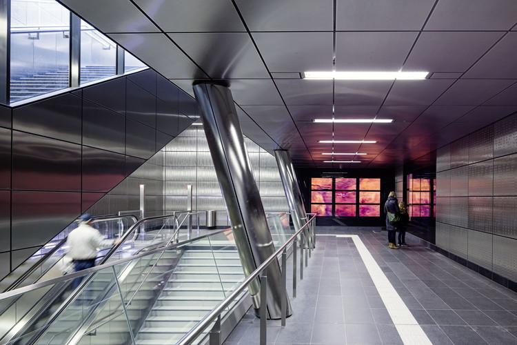 """Benrather Strasse Station: """"Heaven Above, Heaven Below"""". Image © Jörg Hempel"""
