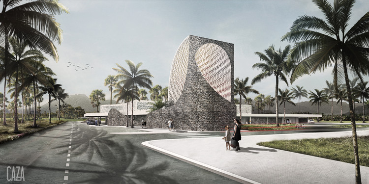 CAZA Announces First Combined Hospital and Trauma Center for Philippines , Courtesy of CAZA Architects