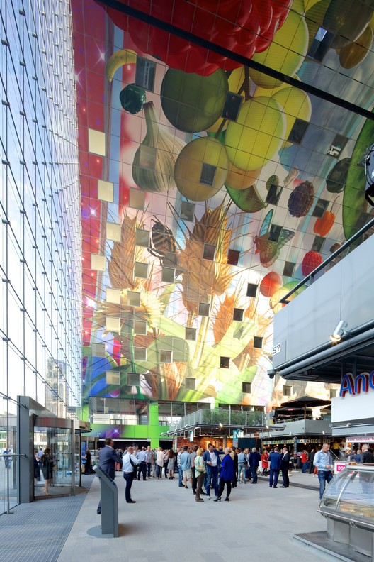 Markthal Rotterdam by MVRDV. Image © Nico Saieh