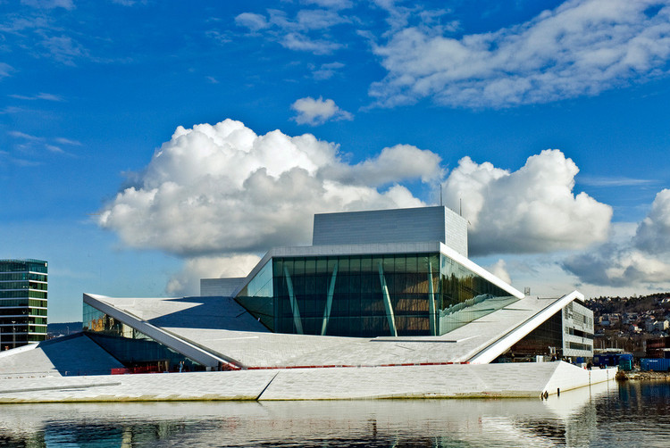 Oslo Opera House by Snøhetta. Image © Snøhetta