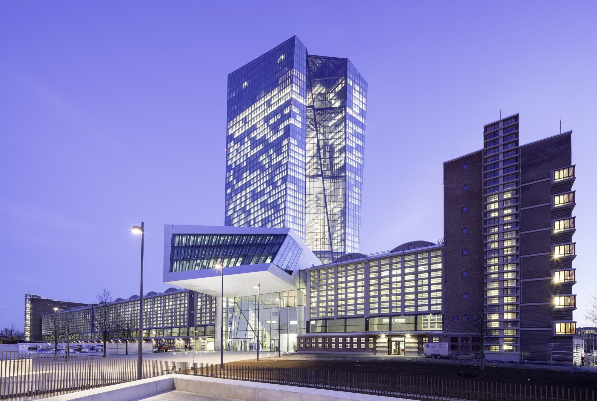 European Central Bank Coop Himmelb L Au Archdaily