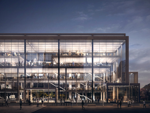 Serie Architects Releases RCA Battersea Campus Proposal