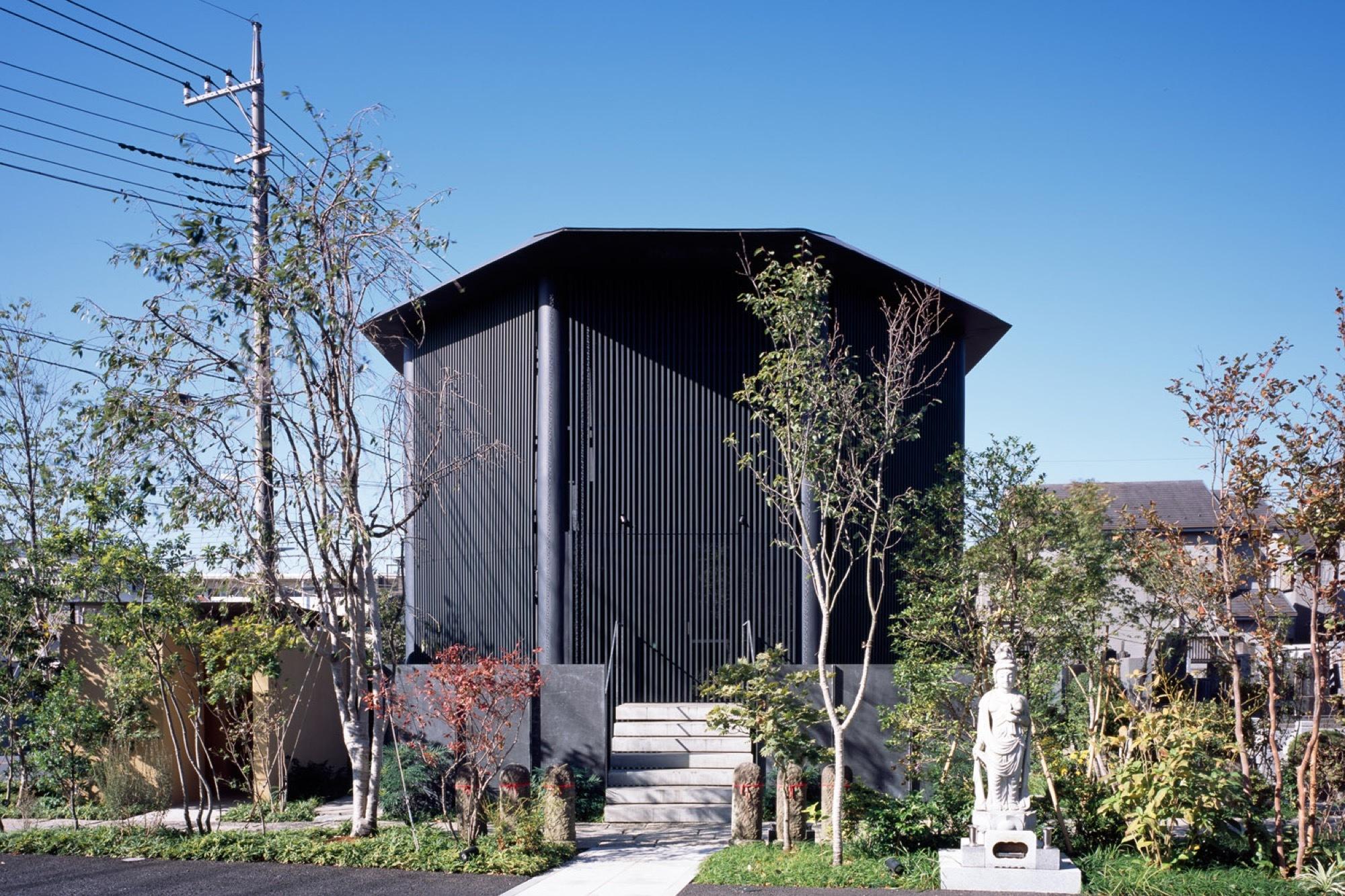 hasshoden charnel house in ryusenji temple love architecture aarchitect office hideki