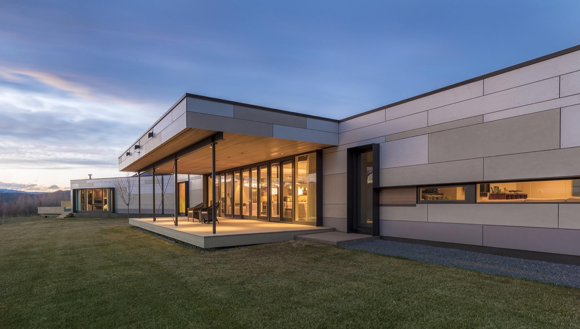 Gallery of oblique house studio b architecture for Architecture oblique