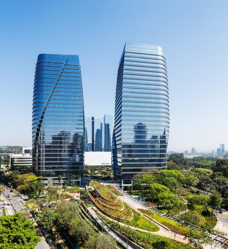 São Paulo Corporate Towers / Pelli Clarke Pelli Architects + aflalo/gasperini arquitetos, © Ana Mello