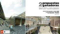 Presentación de 2 propuestas ganadoras: Roberto Riofrío + Jaime Sarmiento y Jaime Lecca + Nómena Arquitectura / UDEP