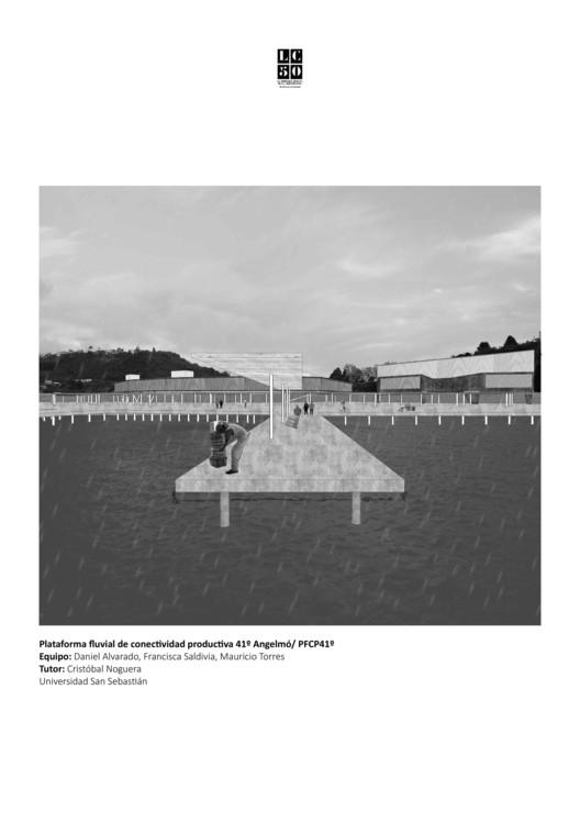 Angelmó / Lámina 01. Image Cortesía de Arquitectura Caliente