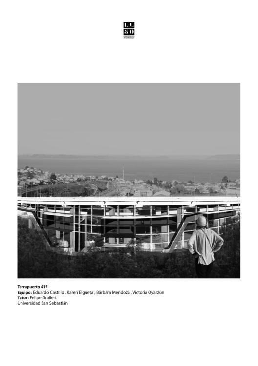Viaducto / Lámina 01. Image Cortesía de Arquitectura Caliente