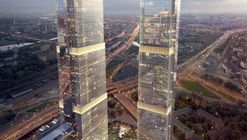 HOK + FXFOWLE + SPEECH Unveil Designs for Moscow City's Final Skyscrapers