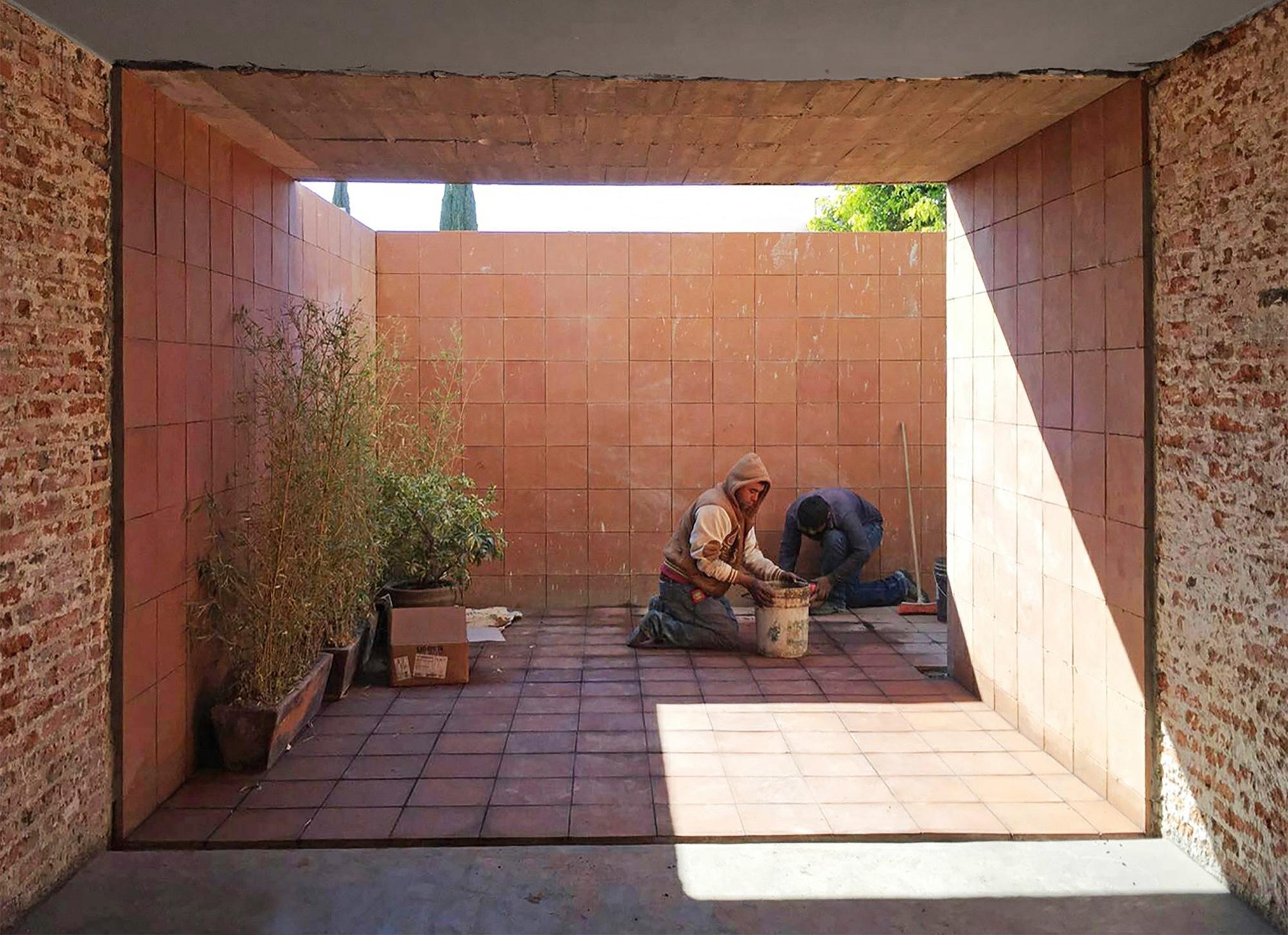 Gallery of casa estudio intersticial arquitectura 8 for Casa estudio arquitectura
