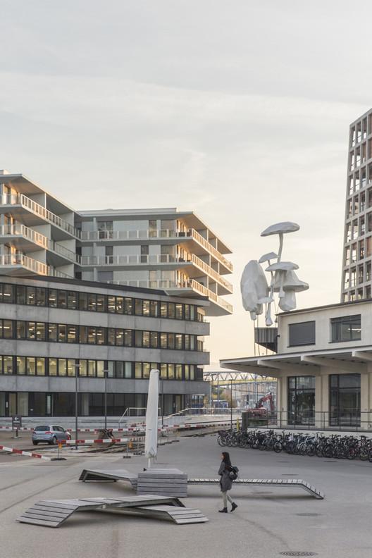 Transitlager Basilea / BIG. Imagen © Laurian Ghinitoiu