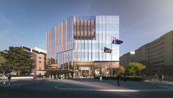 Bates Smart presentan diseño de la nueva embajada de Australia en Estados Unidos