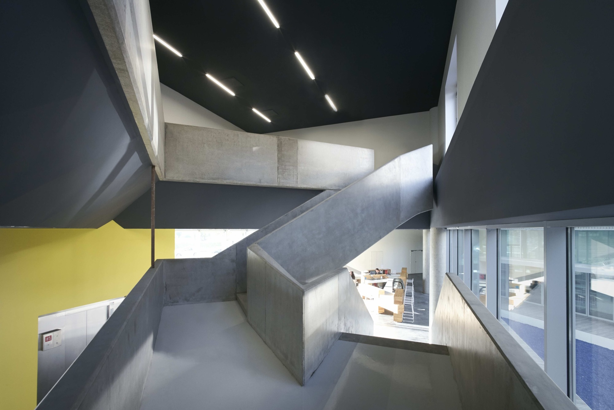 Gallery of maison st phane hessel jds architects 2 for Auberge de jeunesse la maison paris
